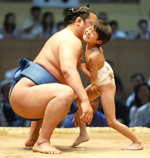 Little Kid Fighting A Huge Guy